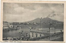 W4459 Napoli - Il Vesuvio Dalla Litoranea - Panorama / Viaggiata 1934 - Napoli