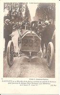 RARE !! COURSE De PARIS-MADRID - GASTEAUX Sur Sa Mercedes De 60 Chevaux Au Contrôle De Bordeaux - Sport Automobile