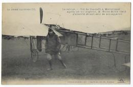 CPA 26 Drôme Roger Morin Vol De Dieulefit à Montélimar Le Retour Avion Aviateur Aviation Près De La Bégude De Mazenc - Dieulefit