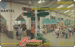 Barbados Phonecard   Bridgetown Cruise Terminal - Barbades