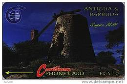 Caribbean Phonecard   Sagar Mill - Antigua En Barbuda