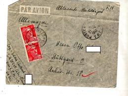 Lettre Cachet Poste Aux Armees T O E  Et 22 Curiosité - Handstempel