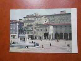 Carte Postale  - ITALIE - Livorno - Piazza Vittorio Emanuele  (3433) - Livorno