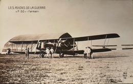 CPA. - > Aviation > Avions > 1914-1918: 1ère Guerre > Les Avions De La Guerre - F 50 (Farman) - TBE - 1914-1918: 1st War