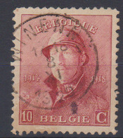 COB 168 Roi Casqué Oblit. WINENNE - 1919-1920 Behelmter König