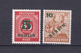 Berlin - 1949 - Michel Nr. 64/65 - Postfrisch - 25 Euro - Nuevos