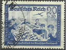 Germany - 1941 Glider Workshop 20pf+30pf Used   SG 765  Sc B157A - Gebraucht