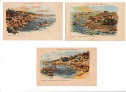 6 Cartes Anciennes -MARSEILLE- Poivre & Epices Rabelais- Dép13 - Autres