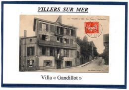 14 - VILLERS SUR MER- Villa - Gandillot - Villers Sur Mer