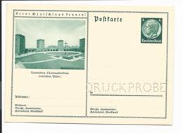 DR P 232/121 ** - 6 Pf Hindenb Med BiPo 'Tannenberg-Nationaldenkmal' Druckprobe - Ganzsachen