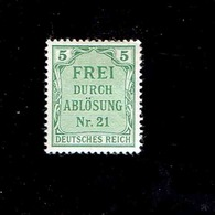 Allemagne - T.S. (Y&T) 1903. N°3  * *     5p.  Neuf* - Service