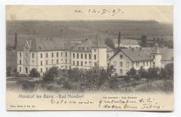 GD DU LUXEMBOURG - MONDORF-LES-BAINS - NELS SERIE 8 N° 36 - VOIR ZOOM - Bad Mondorf