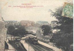 TOUT PARIS              LES HAUTEURS DE MENILMONTANT  GARE   PARIS 20 Eme - Arrondissement: 20
