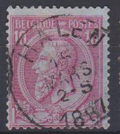 COB 46 Oblit. Centrale HALEN - 1884-1891 Leopold II.