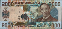 SIERRA LEONE - 2.000 Leones 04.08.2006 UNC P.26 C - Sierra Leone