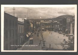 Santa Cruz De Tenerife - Calle De Alfonso XIII - Vintage Bus - Carros / Voitures / Cars - Photo Card - Tenerife