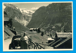 Suisse * Grindelwald Voiture VW Coccinelle - Photo Originale Vers 1960 - Places