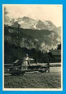 Suisse * Vallée Lauterbrunnen Voiture VW Coccinelle, Isenfluh, Sulwald, Jungfrau - Photo Originale Vers 1960 - Places