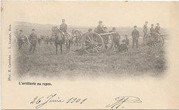 Brasschaat *  Verstuurd Uit Brasschaet-Polygone - L'Artillerie Au Repos (Militair - Leger - Armée) - Brasschaat