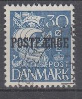 +D3341. Denmark Parcel Post 1936. POSTFÆRGE. Michel 18 I. Cancelled - Colis Postaux