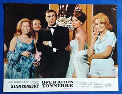 "SEAN CONNERY Als JAMES BOND Im Kino-Film ""THUNDERBALL"" # Original Altes Kinoaushangfoto, Ca. 27 X 21 Cm # [19-425] - Fotos"