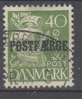 +D3343. Denmark Parcel Post 1936. POSTFÆRGE. Michel 19 I. Cancelled. - Colis Postaux