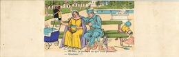 Themes Div-ref CC641 -illustrateurs  -illustrateur H Gaillard -militaires -carte 3 Volets -la Nourrice -allaitement Lait - Illustrateurs & Photographes