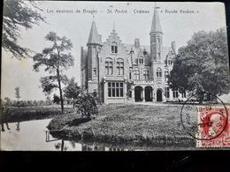 CARTE POSTALE _ CPA VINTAGE : BRUGES _ St André _ Chateau Koude Keuken _ 1912  // CPA.VIDAL.L2.10 - Brugge