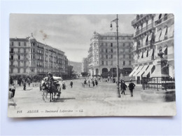 ALGERIE - ALGER - 218 - Boulevard Laferriere - LL - Algiers
