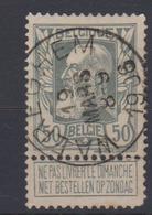 COB 78 Grosse Barbe Oblit. Centrale WAEREGHEM - 1905 Breiter Bart