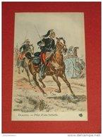 MILITARIA - Uniformes  - Dragons  - Prise D'une Batterie  - Illustrateur Maurice Toussaint - Uniformes