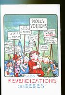 REVENDICATIONS DES BEBES - Humorvolle Karten