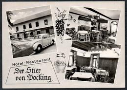 C7502 - Pocking - Hotel Restaurant Gaststätte - Auto Car VW Käfer - Adolph - Pocking