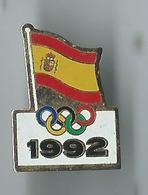 Pin's Jeux 1992 - Pin's