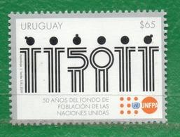 1684 URUGUAY 2019-50 Años Del Fondo De Población De Las Naciones Unidas - Uruguay