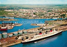 73227362 Schiffe_Ships_Navires Passagierschiff France Columbusbahnhof Kaiserhafe - Schiffe