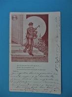 PATOIS CHARENTE - C'here Tiell Eau De Vie - Illustrateur Perrein - Voyagée En 1901 - Edit. Ch. Colas & Cie COGNAC - France