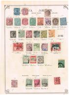 Jamaique Jamaica Ancienne Collection. Old Collection. Altsammlung. Oude Verzamelihg - Collections (sans Albums)