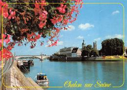 Chalon Sur Saône Péniche Péniches Janin 87604 Attention à L'état - Chalon Sur Saone