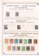 Prince Edward. Ancienne Collection. Old Collection. Altsammlung. Oude Verzamelihg - Collections (sans Albums)