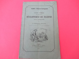 """Livret/Conception Des Mécanismes / """" Développement Des Machines Dans L'Humanité""""/ Franz REULEAUX/Berlin/1876  MDP168 - Ciencia"""