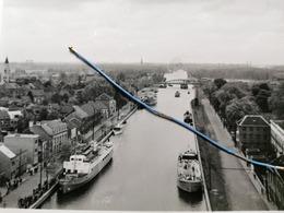 Photo Original 1952, Entre Willebroek Et Kapel Op Den Bos , Canal Bruxelles-Rupel - Willebrök