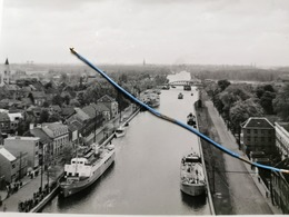 Photo Original 1952, Entre Willebroek Et Kapel Op Den Bos , Canal Bruxelles-Rupel - Willebroek