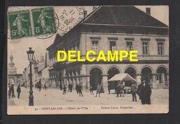 DD / 25 DOUBS / PONTARLIER / L' HÔTEL DE VILLE / ANIMÉE / 1911 - Pontarlier