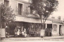 SABLES D' OLONNE Avenue De La Gare Café Tabac Boisard - Sables D'Olonne
