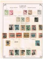 Labuan. Ancienne Collection. Old Collection. Altsammlung. Oude Verzamelihg - Collections (sans Albums)