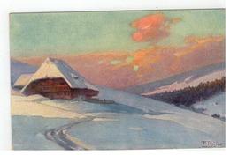 Fr. Reiss,  Winter Im Schwarzwald Joh. Elchlepp,Freiburg I. Br. Nr.16 - Künstlerkarten