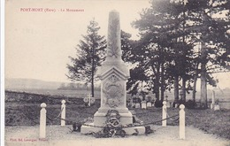 Cpa-27-port Mort-monuments Aux Morts 14 / 18 -edi Lavergne - France