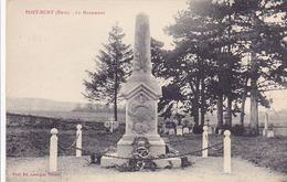 Cpa-27-port Mort-monuments Aux Morts 14 / 18 -edi Lavergne - Other Municipalities