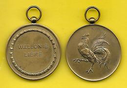 """Médaille Belge """"WALLONIE LIBRE"""" - Belgique"""